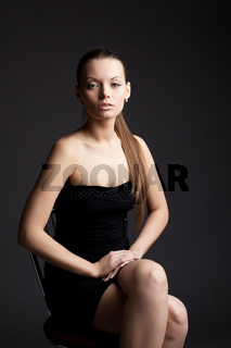 beauty business woman portrait smile to you