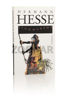 Herman Hesses Novel Siddhartha. Here in Finnish paperback edition from 1994.