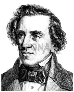 Giacomo Meyerbeer or Jakob Liebmann Meyer Beer, 1791 - 1864, a G