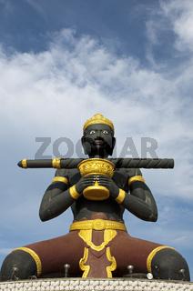 Statue von Ta Dambong, Schwarzer Mann, Battambang
