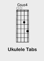 Ukulele chords G sus4