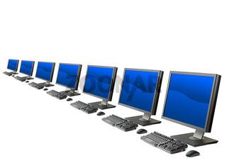 Computer workstation ( monitor