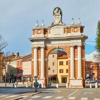 Arco Ganganelli in Santarcangelo di Romagna