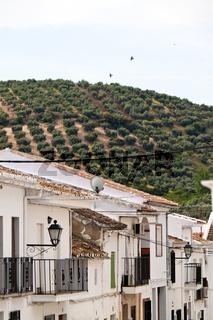 Iznajar in Andalusien, Spanien