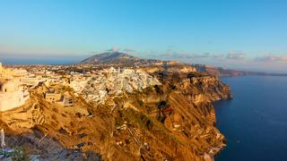 Panorama of Santorini