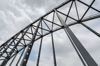 steel bridge closeup