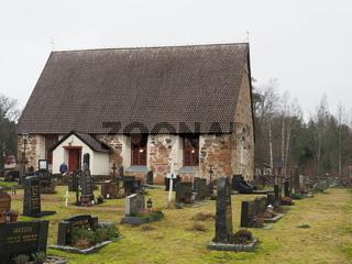 St. Georgs Kirche in Geta, Aland,