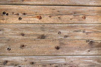 Natural rustic brown barn wood wall. Wall texture background pattern.