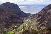 The Valle Gran Rey on La Gomera