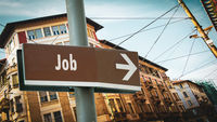 Street Sign to Job