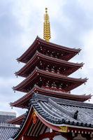 Asakusa Temple Pagoda