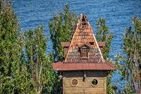 Old historic house in Odessa seaport, Ukraine