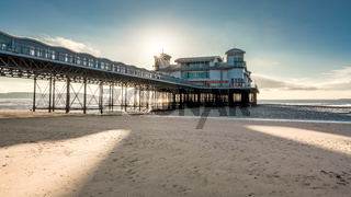 The Grand Pier, Weston-super-Mare, England