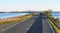 causeway to the island of Grado