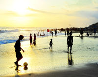 Bali beach activity