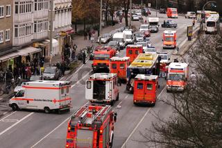 Verkehrsunfall Grindelallee Buslinie 5