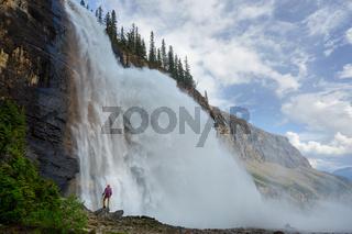 Waterfall in Canada
