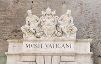 Vatican Museum in Vatican City in Rome