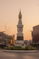 ASIA THAILAND SUKHOTHAI CITY CLOCK TOWER