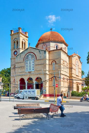 Ekklisia Isodia Theotokou Church in Aegina town