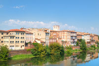 French village Montauban