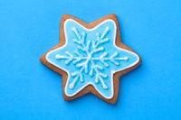 Beautiful Christmas Gingerbread Cookie