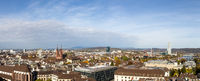 Panoramic view of Basel, Switzerland