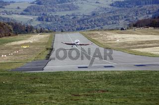 Airplane, Wasserkuppe, Berg, Fulda, Hessen, Germany, Europe