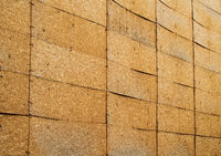 A Wall Of Oriented Strand Boards