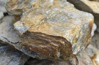 Limestone in the dolomites