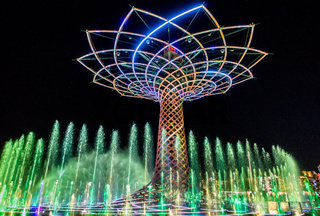 Tree of Life at Expo in Milan Italy
