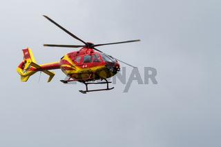 Notarzt Hubschrauber im Einsatz