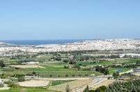 Gozo from the Citadel Victoria
