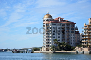 Dowtown Sarasota am Golf Von Mexico, Florida