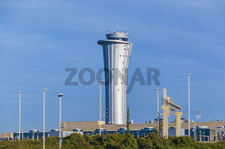 Tel Aviv Airport Exterior View, Israel