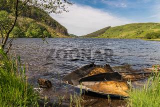 Llyn Geirionydd, Conwy, Clwyd, Wales, UK