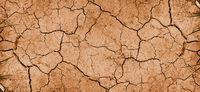 Dry mud background texture banner