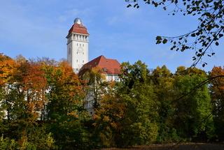 Herbst im Stadtteil Schmargendorf, Wilmersdorf, Berlin