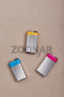 Collecting discharged batteries to recycle