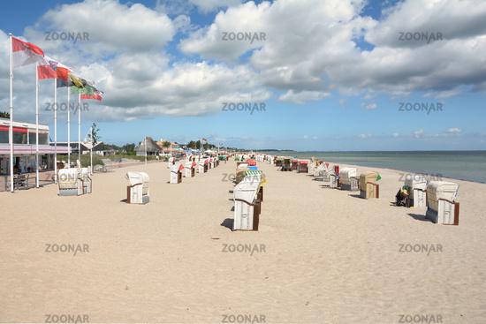 Seaside Resort of Dahme,baltic Sea,Schleswig-Holstein,Germany