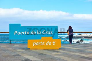Puerto de la Cruz - part of you