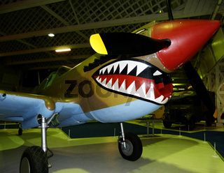 Curtiss P-40 flying tiger