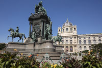 Memorial of Maria Theresia, Vienna, Austria, Europe