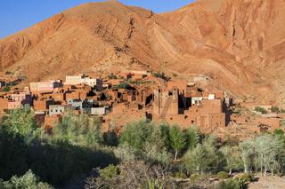 Strasse der Kasbahs