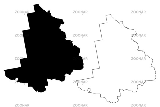 Alsunga Municipality (Republic of Latvia, Administrative divisions of Latvia, Municipalities and their territorial units) map vector illustration, scribble sketch Alsunga map