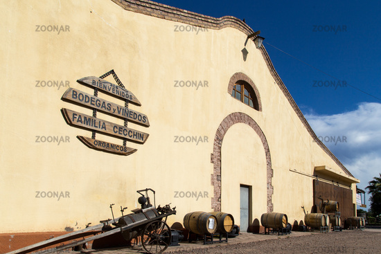 Bodega Familia Cecchin in Mendoza, Argentina