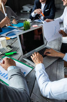 Business corporate management team
