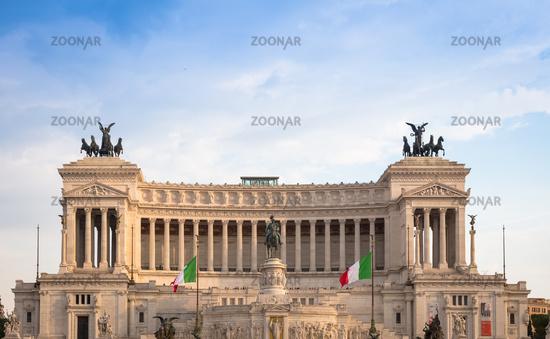 Vittoriano Monument in Rome, Italy