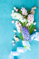 Fresh hyacinth flowers