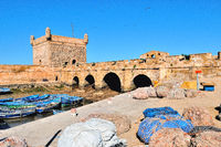 old harbor fortress Essaouira Morocco